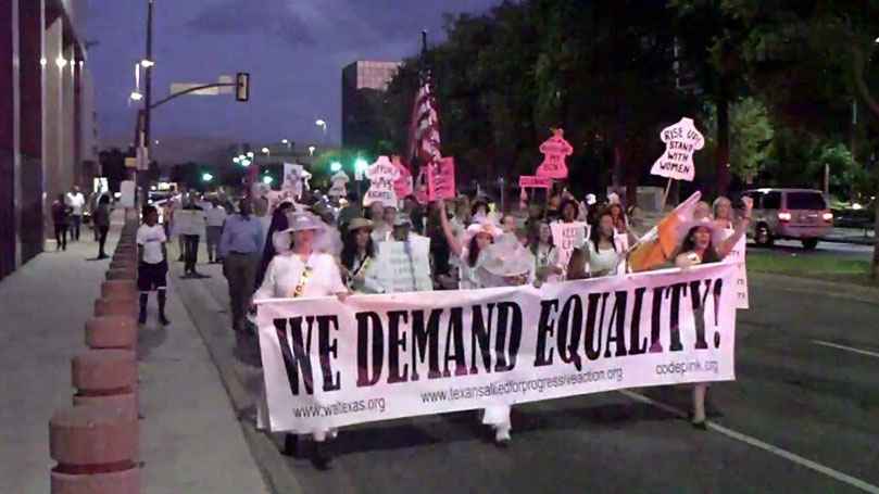 Women's Equality and the Struggle for Democracy: Convention Call