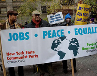 Communist Party USA an introduction: our policy, history and how we work