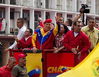 Hugo Chávez Presente!