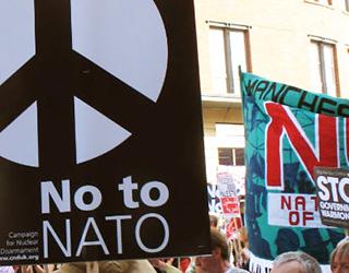 Protest NATO in Chicago