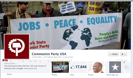 CPUSA builds online community