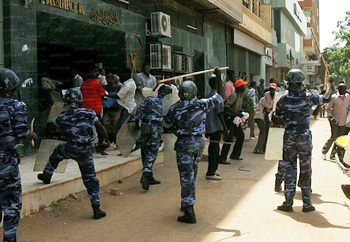 Stop the repression of the opposition in Sudan!