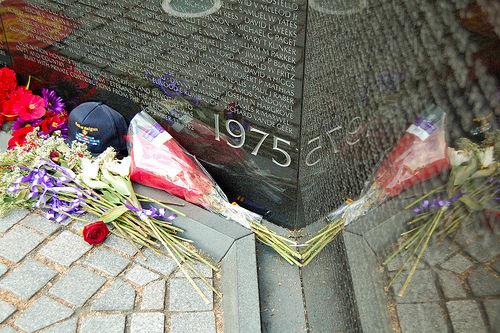 Honoring buddies, not war, on Memorial Day