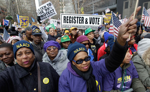 This holiday season demand jobs, benefits, voting rights