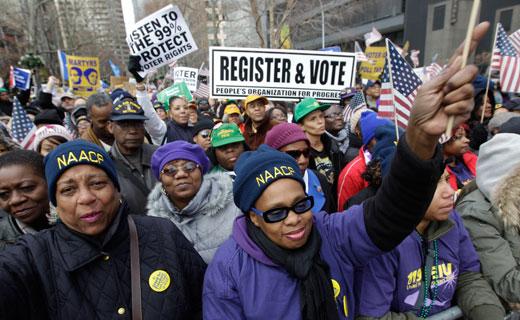 This holiday season demand jobs, benefits, voting rights