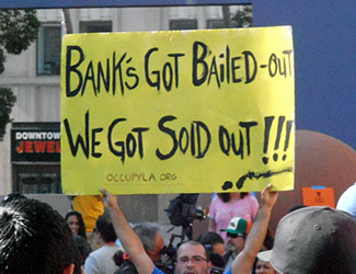 """Solidarity with """"Occupy Wall Street"""""""