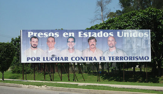 Solidarity greetings to the Cuban Five