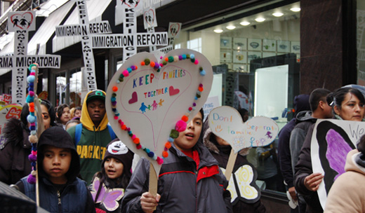 Just Immigration Reform will take a Struggle