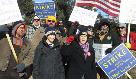 Support the USW oil workers strike!