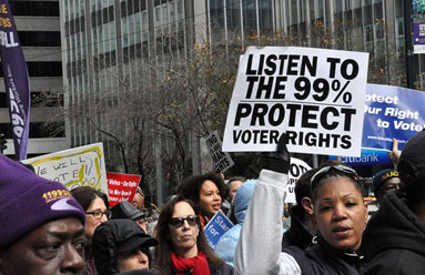 Save Democracy: Stop the attack on expanding voting rights
