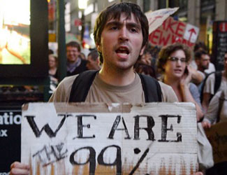 Building the 99% movement