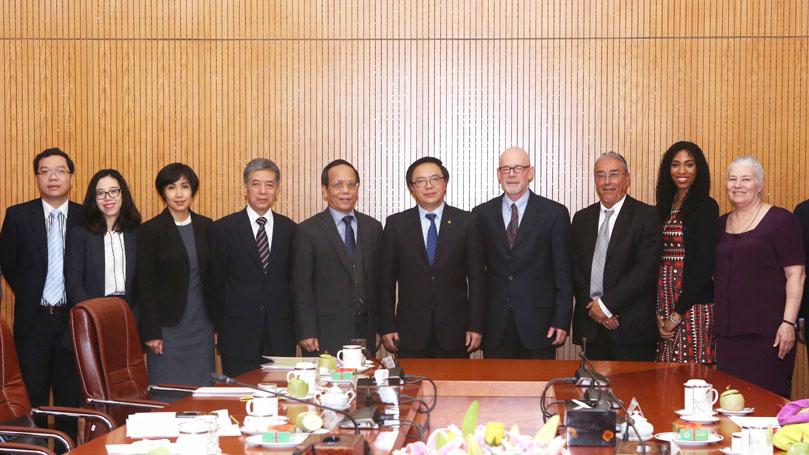CPUSA Delegation Visits Vietnam