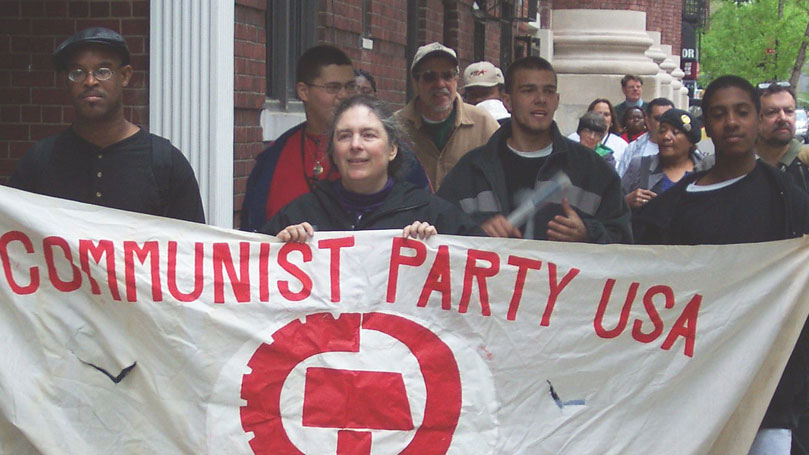 Does CPUSA advocate the violent overthrow of the American government?