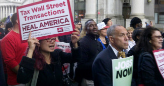 Fight the power: Take on Wall Street
