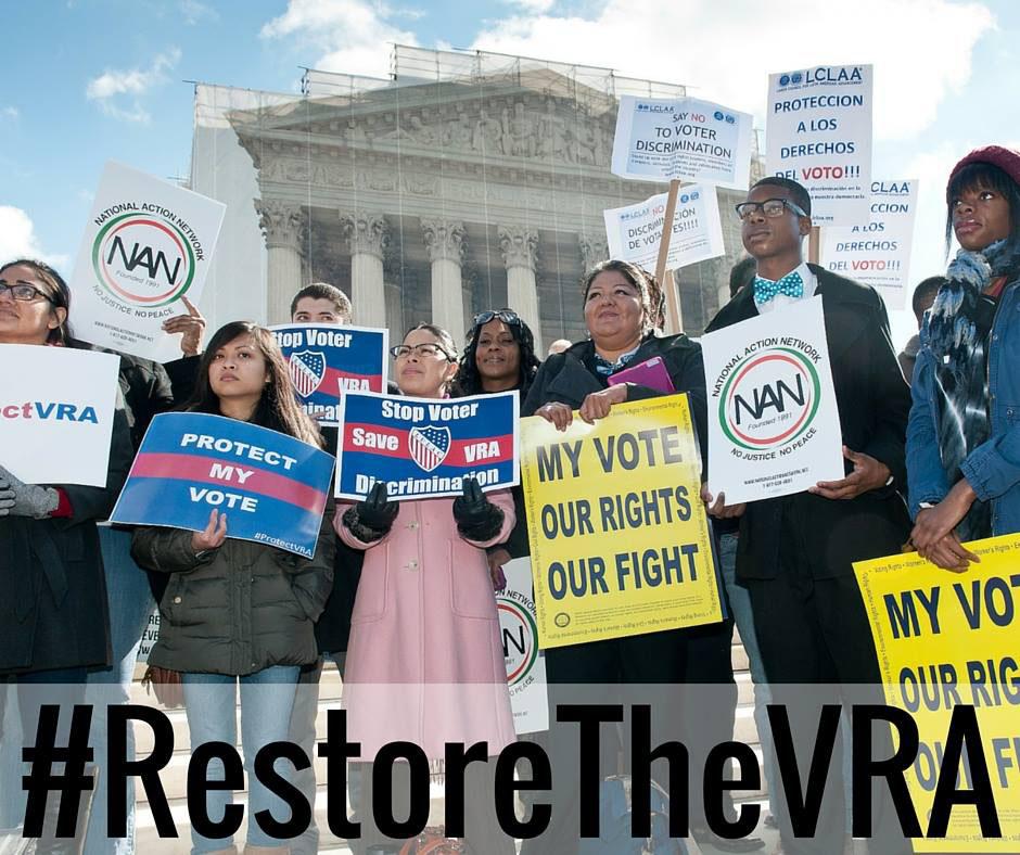 Restore voting rights!