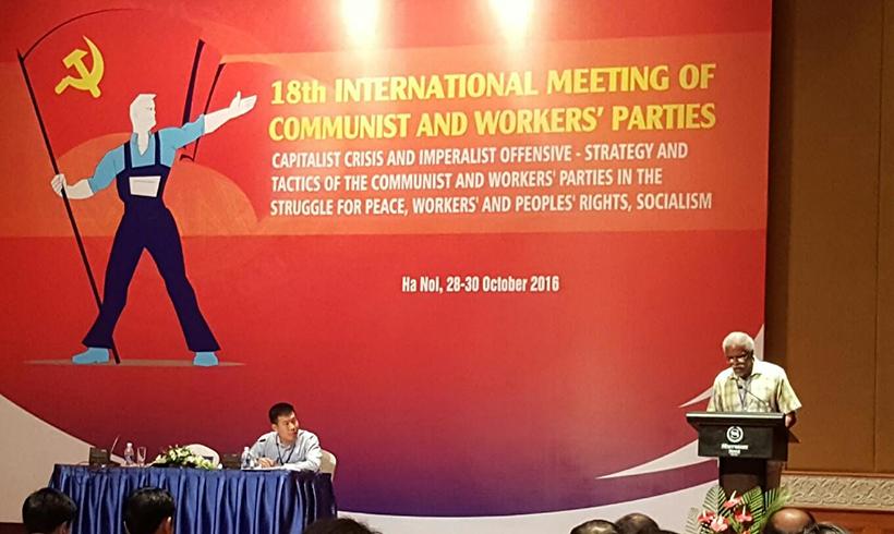 CPUSA contribution to world Communist meet