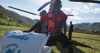 Solidarity with Haiti hurricane victims