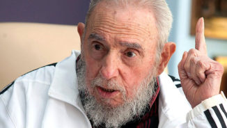 Always in our hearts, Fidel Castro, presente!
