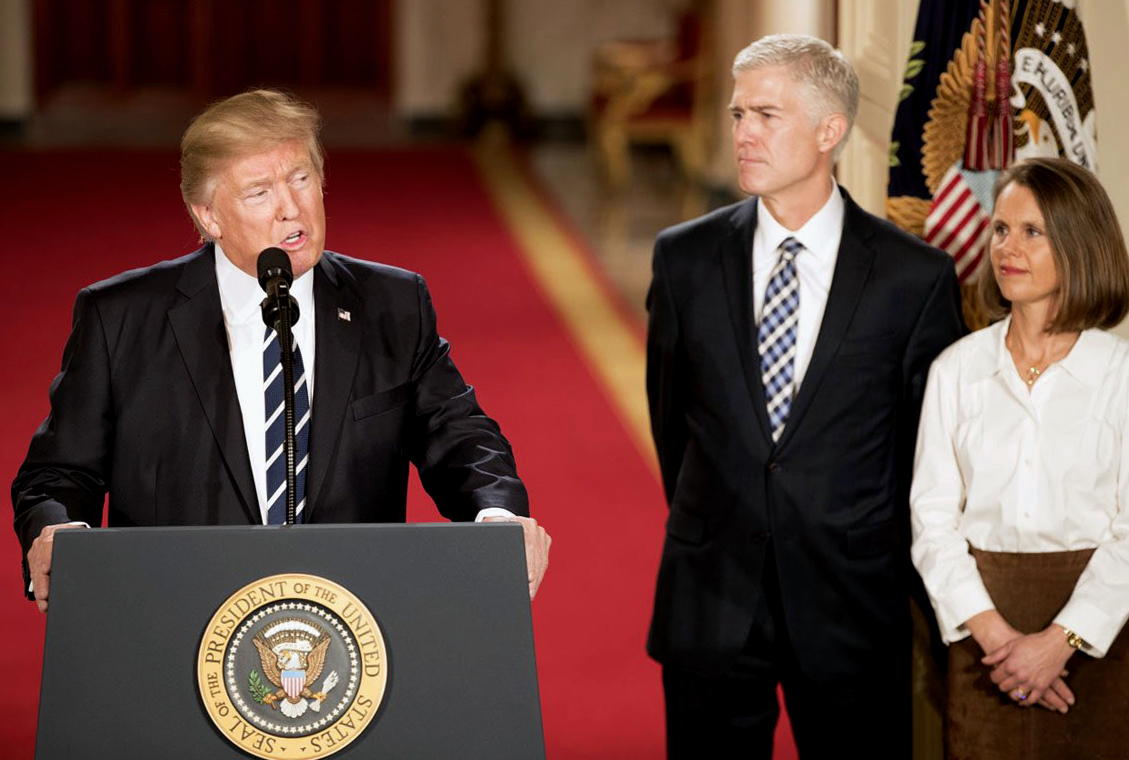 Defeat Gorsuch! Block the takeover of the Supreme Court