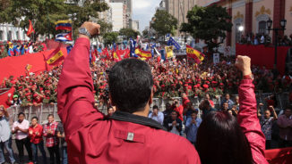 Defend the sovereign rights of the Venezuelan people