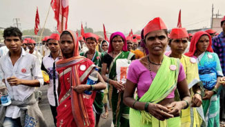 Indian farmers march to victory