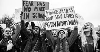 Support students' right to protest gun violence