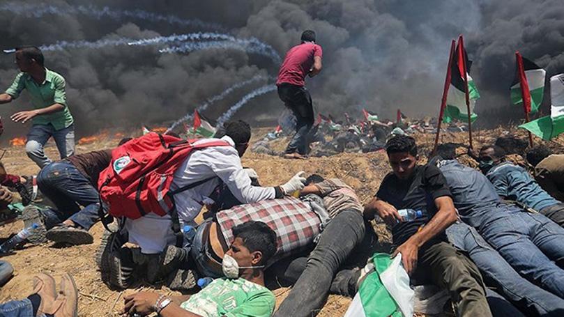 CPUSA condemns Gaza massarcre