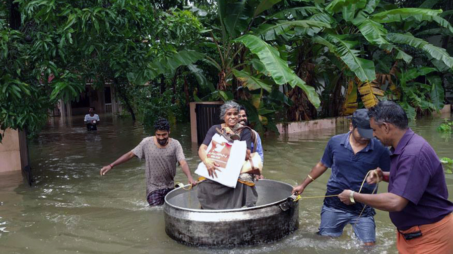 International Notes: Urgent:  floods strike Kerala, India