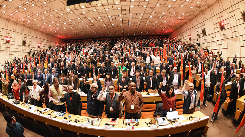 20th annual world communist conference ends in Athens