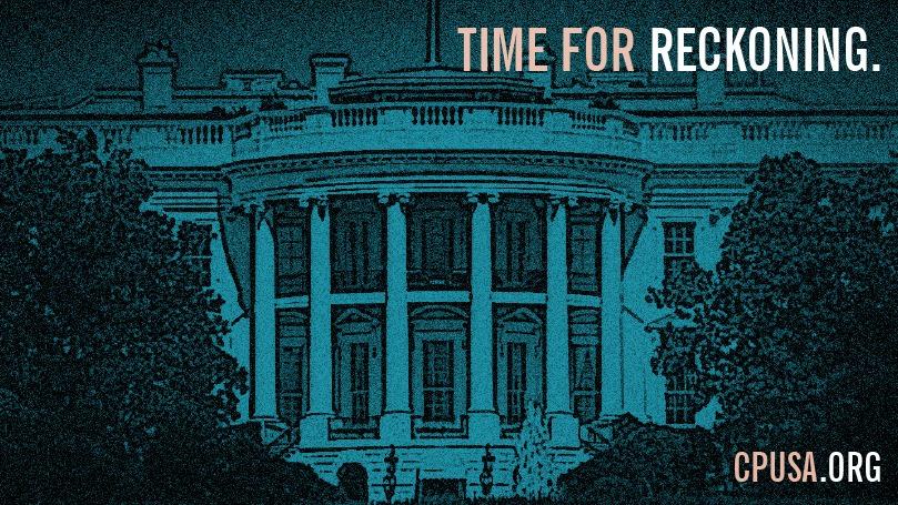 Trump impeached: Now let's vote him out!