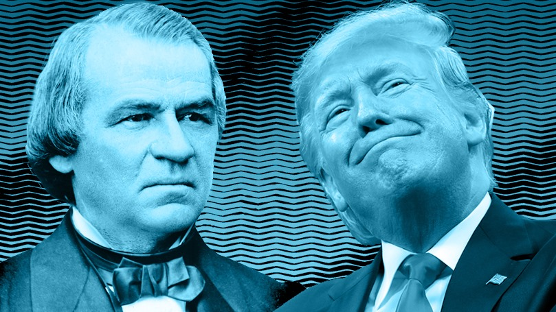 A tale of two impeachments: Andrew Johnson and Donald Trump