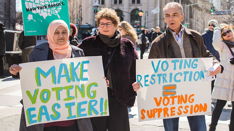 The Marxist Classes: The struggle for voting rights today