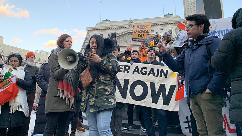 Brooklyn, Colorado clubs rally with workers, against ICE