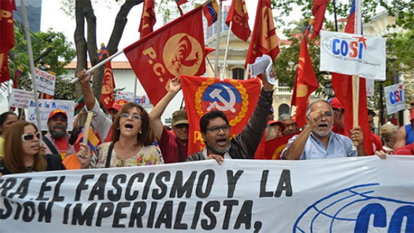 CPUSA condemns U.S. criminal charges against Maduro