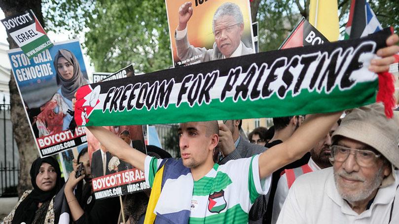 International Notes: Mobilization against Israel's annexation plan