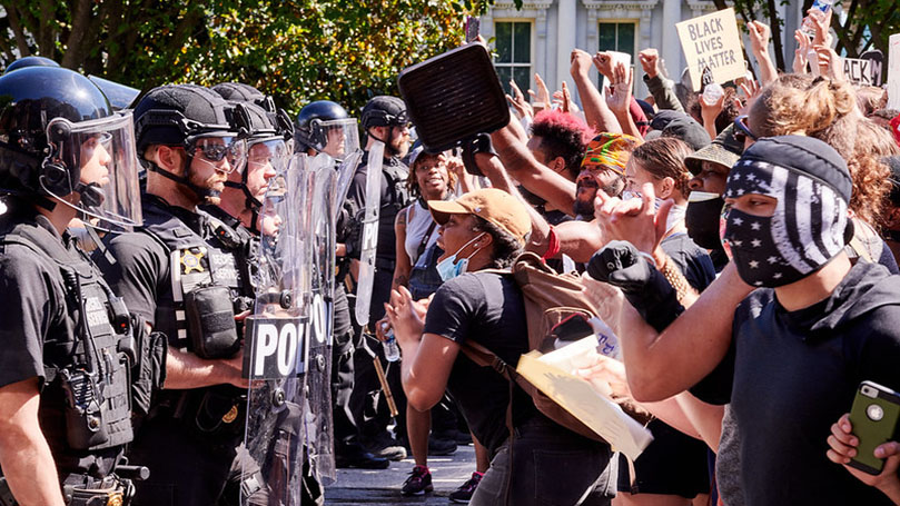 """This Week @CPUSA: Law and order meets """"We can't breathe!"""""""
