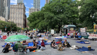 "This Week @CPUSA: Live from ""Occupy City Park""!"