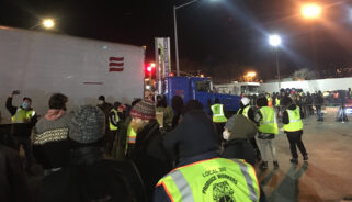 """NYC Teamsters strike against """"filthy rich bosses"""""""
