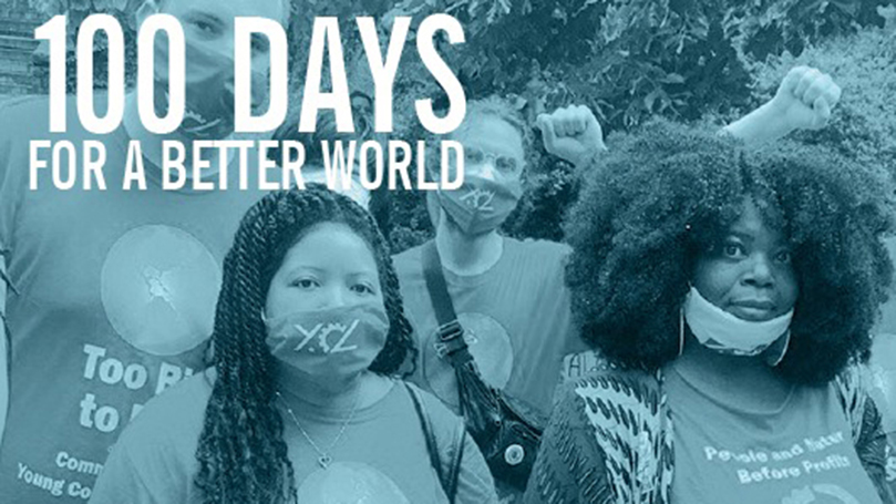100 days for a better world: Resolution of the CPUSA National Board