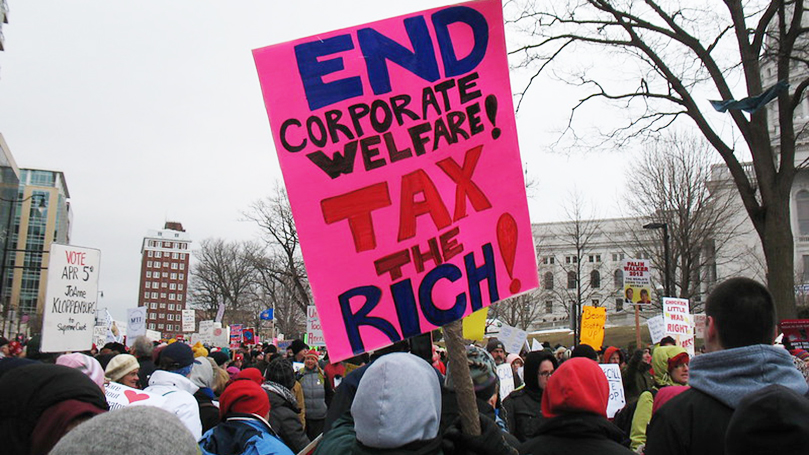 """This Week @CPUSA: Is """"trickle-down"""" drying up?"""