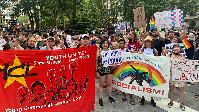 The socialist moment and mass radicalization