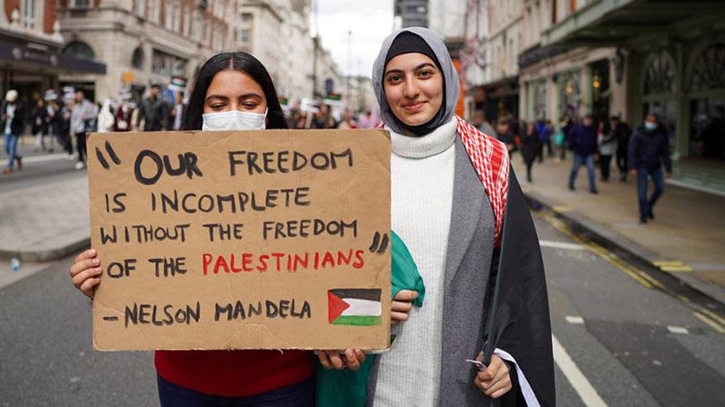 Taking action on Palestine