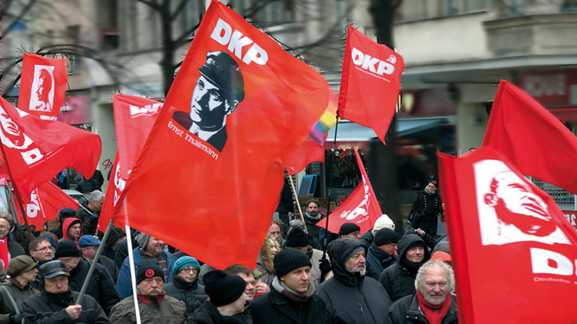 German communists banned from fall elections