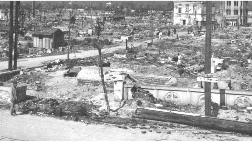 Remember Hiroshima and Nagasaki, 1945