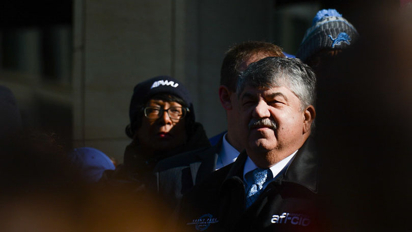 """For Trumka, it was always """"workers first"""""""