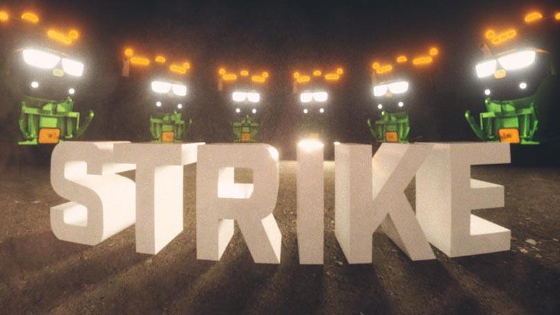 Good morning, revolution! Strike wave edition